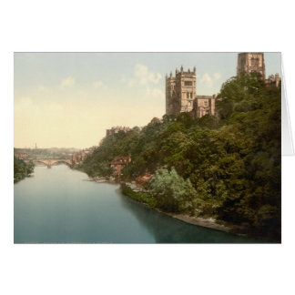 Cathedral and Church, Durham, England Greeting Card