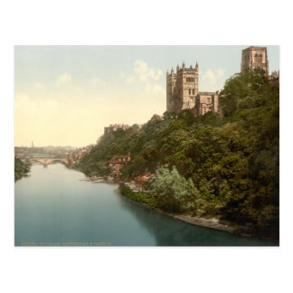 Cathedral and Church, Durham, England Postcard