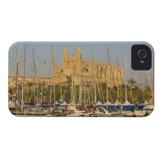 Cathedral and marina, Palma, Mallorca, Spain 2 iPhone 4 Cover