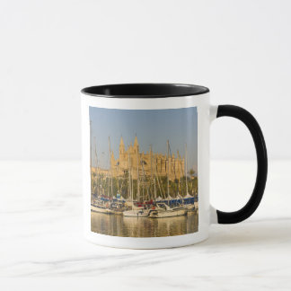 Cathedral and marina, Palma, Mallorca, Spain 2 Mug