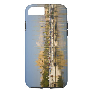 Cathedral and marina, Palma, Mallorca, Spain iPhone 8/7 Case