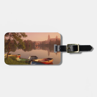 Cathedral and River Tormes, Salamanca, Castile Luggage Tag