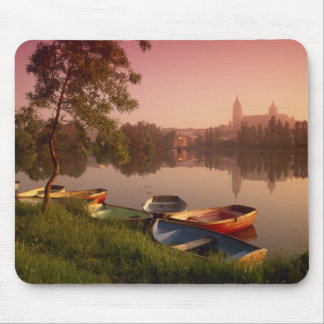 Cathedral and River Tormes, Salamanca, Castile Mouse Mat