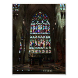 Cathedral Basilica of the Assumption, Great Window Poster
