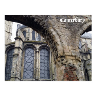 Cathedral - Canterbury Postcard