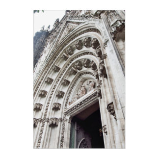 cathedral catolic temple. Sevillia. Spain Acrylic Print