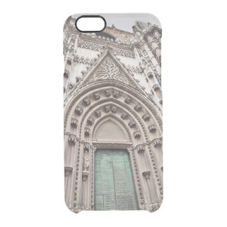 cathedral catolic temple. Sevillia. Spain Clear iPhone 6/6S Case