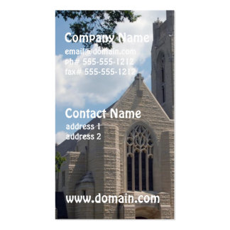 Cathedral Church Business Cards