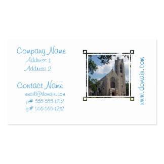 Cathedral Church Business Card Templates
