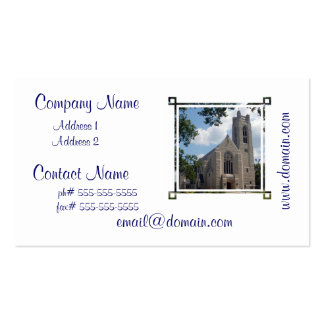 Cathedral Church Pack Of Standard Business Cards