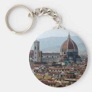 Cathedral di Santa Maria del Fiore Basic Round Button Key Ring