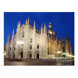 Cathedral  in Milan Postcard