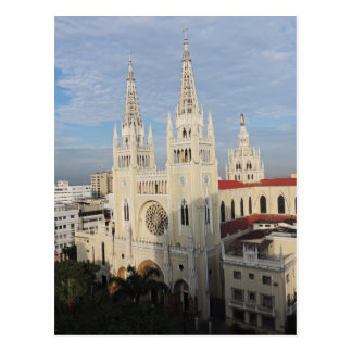 Cathedral in the Morning - Guayaquil - Ecuador Postcard