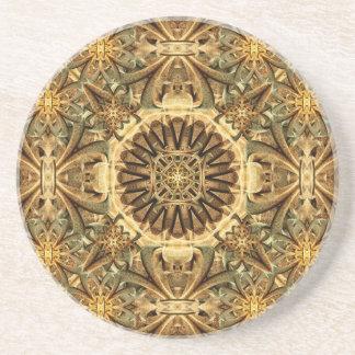 Cathedral Mandala Drink Coasters