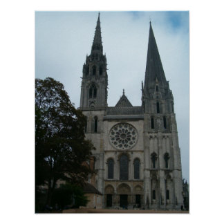 Cathedral of Chartres Poster