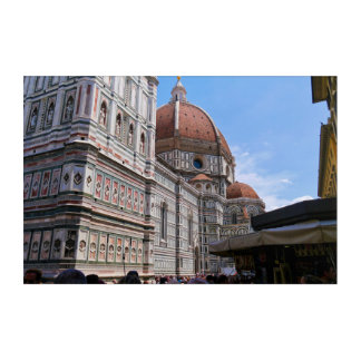 Cathedral of Florence Italy Acrylic Wall Art