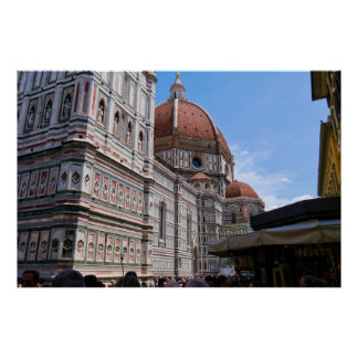 Cathedral of Florence Italy Poster