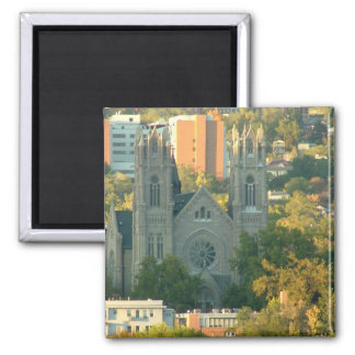 Cathedral of Madeleine Fridge Magnets