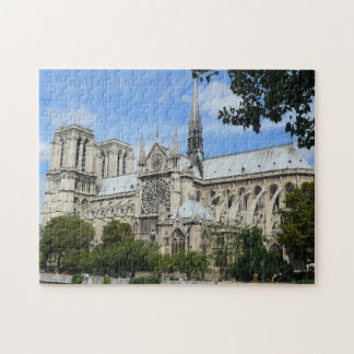 Cathedral of Notre Dame in Paris Jigsaw Puzzle