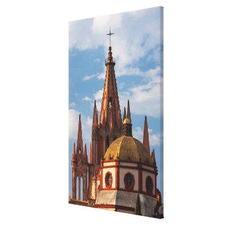 Cathedral Of San Miguel Archangel Canvas Print