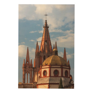 Cathedral Of San Miguel Archangel Wood Print