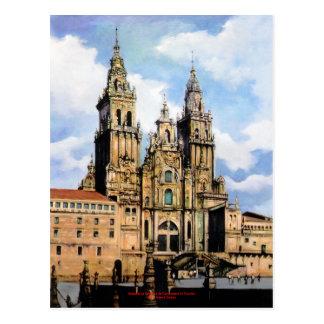 Cathedral of Santiago de Compostela (To Corunna) Postcard