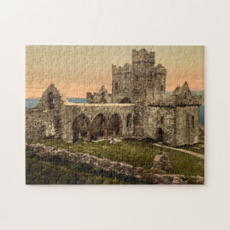 Cathedral of St Germain, Peel, Isle of Man Jigsaw Puzzle
