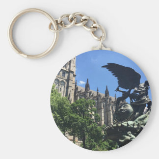 Cathedral of St. John the Divine, New York City NY Key Ring