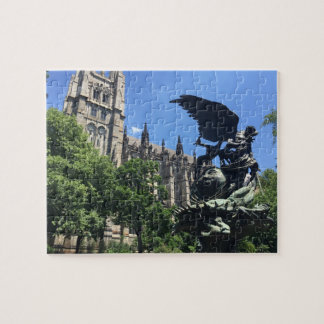 Cathedral of St. John the Divine NYC New York City Jigsaw Puzzle