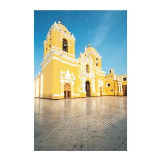 Cathedral Of Trujillo, Trujillo, Peru Stretched Canvas Print