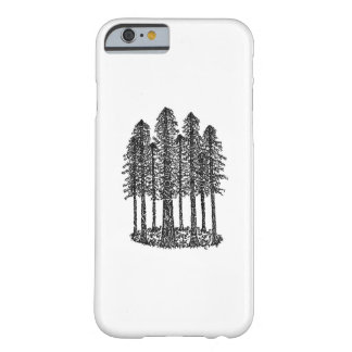 Cathedral Ring (Coastal Redwoods Sketch) Barely There iPhone 6 Case