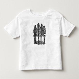 Cathedral Ring (Coastal Redwoods Sketch) Toddler T-Shirt