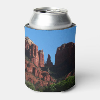 Cathedral Rock in Sedona Arizona Can Cooler