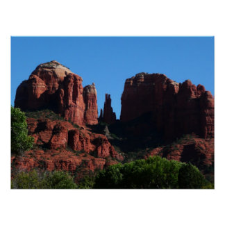 Cathedral Rock in Sedona Arizona Poster