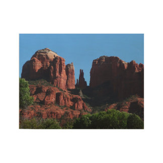 Cathedral Rock in Sedona Arizona Wood Poster