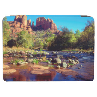 Cathedral Rock reflecting in Oak Creek iPad Air Cover