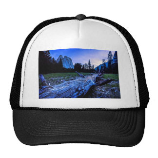 Cathedral Rocks from El Capitan Meadows Hat
