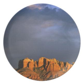 Cathedral Rocks in Sedona Arizona Dinner Plate