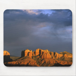 Cathedral Rocks in Sedona Arizona Mouse Mat
