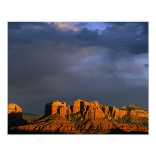 Cathedral Rocks in Sedona Arizona Poster