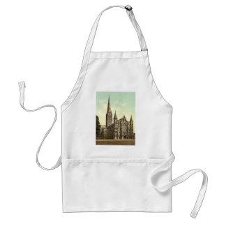 Cathedral, Salisbury, England rare Photochrom Standard Apron