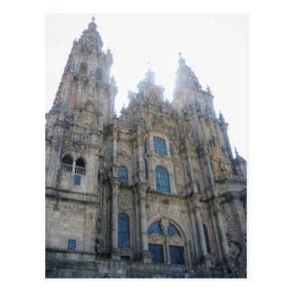 Cathedral Santiago de Compostela Post Card