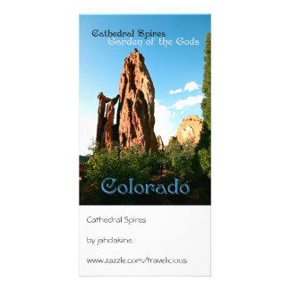 Cathedral Spires Photo Card Template