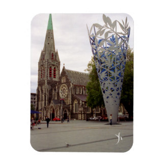 Cathedral Square Rectangular Magnet