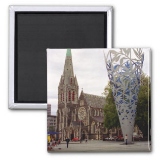 Cathedral square square magnet