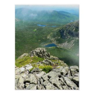 Cathedral Trail, Baxter State Park, Maine Poster