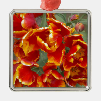 Cathedral Tulips Christmas Ornament