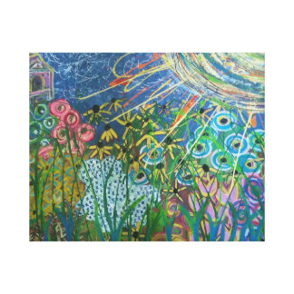 Cathedral Whimsy Canvas Print