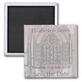 Cathedral Windows Refrigerator Magnets