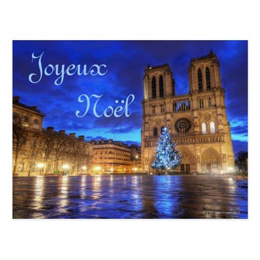 Cathédrale Notre-Dame de Paris Post Card